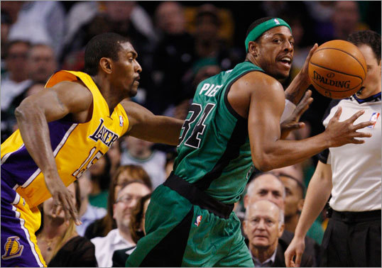 Option: Trade Paul Pierce Pierce could be a Celtic for life, but he could also bring a substantial amount of talent back in a deal with a team that feels it's one piece away from a championship. Trading Pierce may bring a young player and/or a draft pick that could hasten the Celtics' rebuilding process. It would take guts to let Pierce go. Despite Rondo's emergence, Pierce is still the best player on the Celtics because of his ability to create his own shot. He could help future Celtics teams, no matter how those teams are constituted. His contract could be an impediment to a deal.