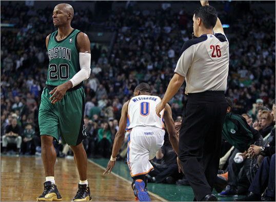 Should the Celtics trade Ray Allen?