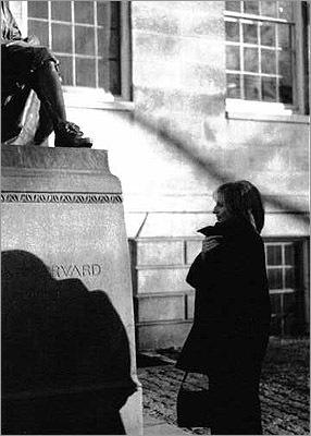 Visit John Harvard Rub the toe of the John Harvard statue in Harvard Yard for good luck. Hey, Barbara Streisand visited the statue in 1995. So can Gaga.