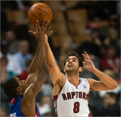 Jose Calderon, PG The Raptors are very much out of the playoff picture and are looking to make some big changes for the future. Owed $10.5 million next season, Calderon is a big chip they'd like to deal. He's averaged at least eight assists per game in four of his last five seasons. With Rajon Rondo in place, it's unlikely the Celtics would pay this much for a backup.