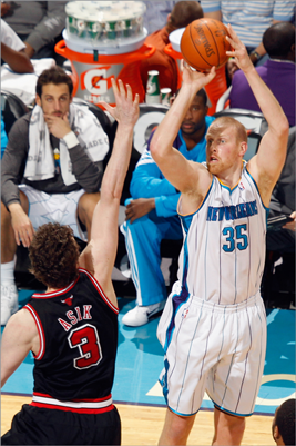 Chris Kaman, C Kaman wants out of New Orleans, and he's drawing interest from teams as a solid 7-footer. It's been five years since his monster 15-point, 12-rebound season averages, and Kaman is having a tough year offensively (.414 field goal percentage, 11.6 points per game, 7.5 rebounds). His lack of success might make him easier to snag, and perhaps he's just looking for the right offensive scheme to fit his style. The Celtics could certainly use a big man.