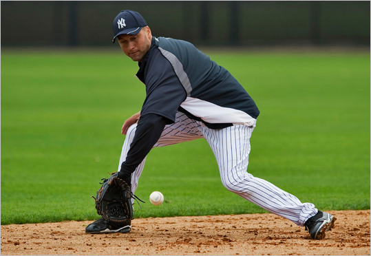 Shortstop Derek Jeter, Yankees: The Yankees captain and leadoff hitter eclipsed the 3,000-hit milestone in 2011, finishing at .297 after a strong second half. Although he continues to hit better than most shortstops, Jeter is 37 and his age is catching up with him on defense. Mike Aviles, Red Sox: Aviles joined the Red Sox from the Royals the day before last year's trade deadline and hit .317 with Boston. He has a history of hitting lefthanded pitchers well, and he should be an adequate if unspectacular replacement for Marco Scutaro.