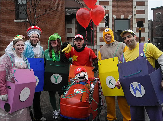 Princess Peach, Toad, Yoshi, Donkey Kong, Koopa Troopa, and Wario even showed up to race.