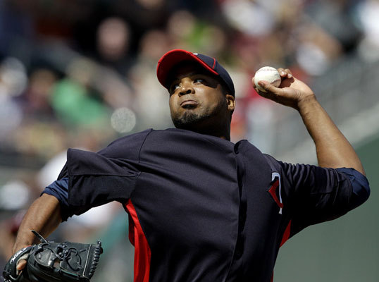 Beckett was opposed by Twins starter Francisco Liriano, who pitched two scoreless innings to start the game for Minnesota.