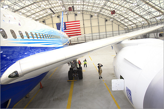 Boeing used a psychologist and cultural anthropologist to conduct surveys to help design the new plane.