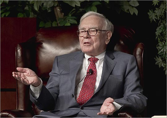 4. Warren Buffett Estimated net worth: $53.5 46.0 billion Buffett, 82, is chairman of Omaha-based Berkshire Hathaway Inc. In February, he bought H.J. Heinz Co. for $23.2 billion with Brazilian billionaire Jorge Paulo Lemann. Almost all of Buffett's wealth is held in Berkshire Hathaway, the publicly traded holding company he has run since 1965. He fell one spot since last year, and for the first time since 2000 that he has not been ranked in the top three richest people. Forbes profile