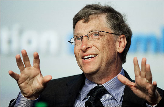 2. Bill Gates Estimated net worth: $67 billion Gates, 57, is co-founder of Microsoft Corp. in Redmond, Wash. He was worth $60.9 billion last year. Forbes profile