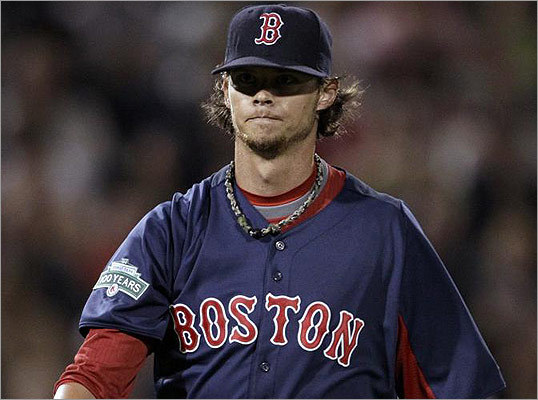Starting pitcher Clay Buchholz kept the Twins scoreless through the second inning.