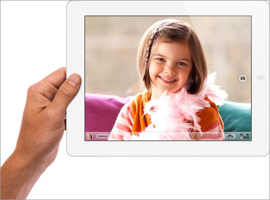 Cameras The New iPad will have a 5-megapixel camera with auto-focus, which is similar to the iPhone 4S. The new camera will have a backside light and can record 1080p video. Discuss: How important is the camera to you?