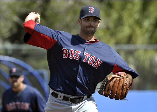 Justin Germano started the game for the Red Sox. He pitched two innings, and retired the Jays in order in the second inning.