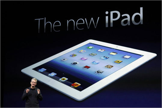 The new iPad Price: Wi-Fi-only iPads will cost $499 for 16 GB, $599 for 32 GB, and $699 for 64 GB. 4G models will cost $629 for 16 GB, $729 for 32 GB, and $829 for 64 GB. Apple's new iPad model features a sharper screen and a faster processor. It will be released on Friday.