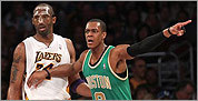 Celtics-Lakers pictures