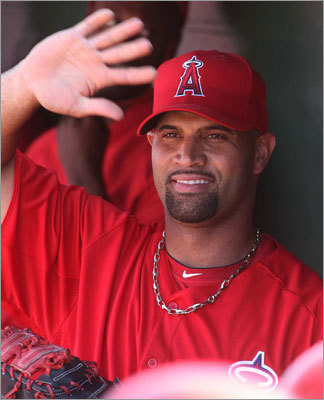 Albert Pujols? Pujols only has 25 at bats against the Red Sox in his career after spending his first 11 seasons in the National League. He's an Angel now, and he gives a big boost to a team that has traditionally been an obstacle for the Red Sox in the playoffs. The three-time MVP could make life even more difficult for a Red Sox team seeking to turn things around in 2012.