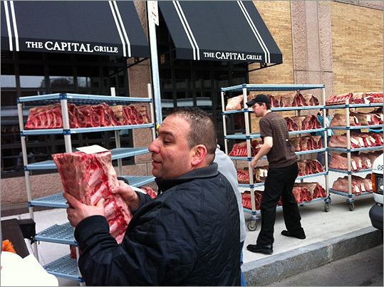 The Capital Grille moved its meat to refrigeration following the power outage on Tuesday.