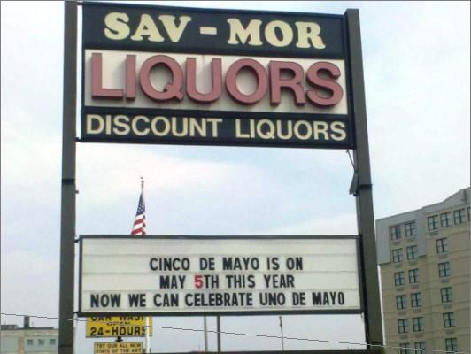 And from the coy, sometimes winking examples Sav-Mor provided to the Globe, it appears that the store's customers appreciate a health dose of sarcasm.