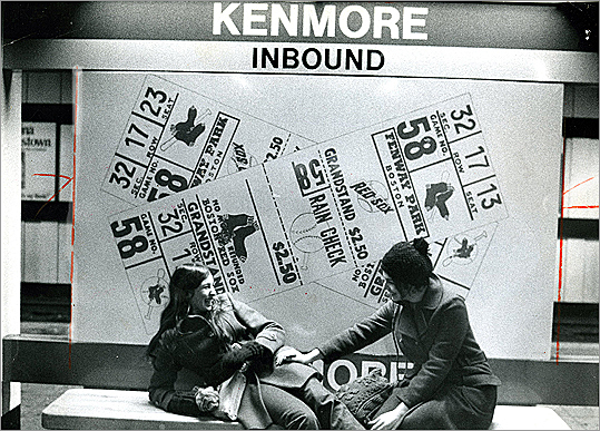 10. Kenmore Mentions in MC: 8 TRIST Score: 7.69 New Years Eve Green line C train - m4w - 32 (Betweene arlington and kenmore stations) 'I wanted to approach you but the train was packed. you were so close yet so far. I was taken back by you anyway. We exchanged glances a few times but never spoke. '