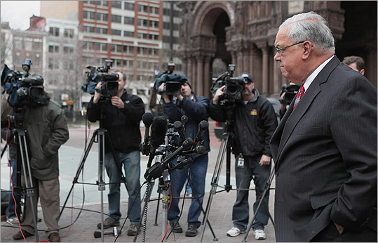 Mayor Thomas M. Menino, seen in Copley Square on March 15, says he will make the city-run charity more transparent.