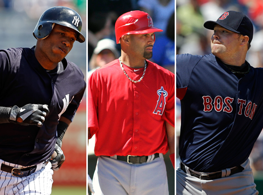 The American League was flooded with talent in the off-season, with big names like Albert Pujols and Prince Fielder coming over from National League teams. The AL East again seems like a three-team race, so Boston fans are wondering how the Red Sox rank compare to the Yankees and Rays? The Angels made the most splashes to improve in the offseason, but are they even the best team in the West? Click through the gallery to see our power rankings heading into the 2012 season.