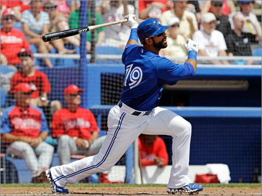 8. Blue Jays Last year: 81-81 They'll win if: power-hitting Jose Bautista (pictured) gets somebody better than Adam Lind protecting him in the lineup. At least a few hitters must have big seasons for Toronto to compete with the Yankees, Rays or Red Sox. They'll lose if: their rotation and bullpen are as ineffective as they were last year.