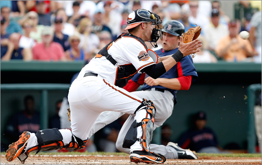 11. Orioles Last year: 69-93 They'll win if: Matt Wieters (pictured) continues to improve and becomes an elite catcher. They'll lose if: their rotation doesn't exceed expectations. Following No. 1 pitcher Wei-Yin Chen, who isn't a sure thing, Jason Hammel, Zach Britton, Jake Arrieta and Brian Matusz posted poor 2011 campaigns.