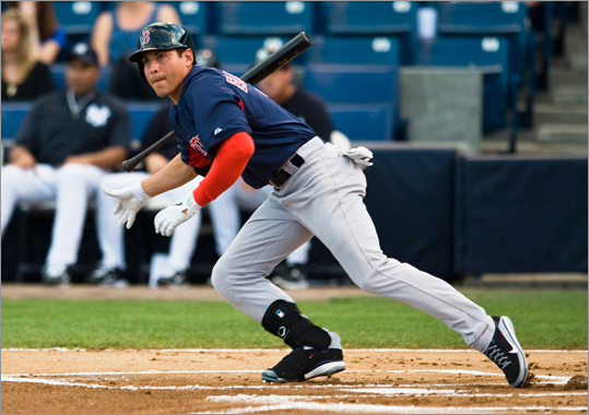 Jacoby Ellsbury -- 25 homers Mazz: Under. Ellsbury opened some eyes last year - including those of opposing pitchers. He's a dynamic player. He's not a slugger. Finn: Over. If pitchers finally figure out that a former weakness &#150; hitting the inside fastball &#150; is now a strength, the power numbers could slip. But that book should have been out last year, and Ellsbury hit nine homers last September.