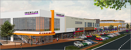 The company will begin construction on a new, more modern building that will house a specialty movie theater, a health and fitness complex and restaurant. The theater will be operated by National Amusements Inc., Marks said.