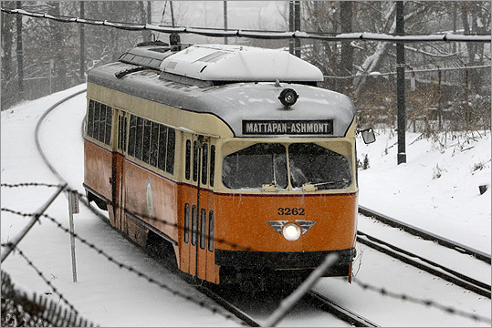 Service Cuts | Subway Green Line E branch service eliminated weekends between Brigham Circle and Heath Street. Mattapan high-speed line will run less frequently at certain hours on weekends.