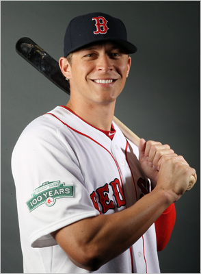"Ryan Sweeney, RF Fast fact: Sweeney has not made an error since Aug. 17, 2009, a stretch of 209 games. Lowdown: Sweeney has a career .342 on-base percentage and is a terrific defensive right fielder. No wonder the Sox were willing to take him off Oakland's hands. Fenway Park could help increase his mysteriously missing power, too. His ceiling may be as a platoon player with Cody Ross in right field once Carl Crawford returns to the lineup. Bobby V's view: ""Watching him, I don't think he knows himself as well as he should, especially as a hitter.'"