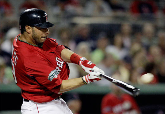 3. Mike Aviles will be an offensive upgrade from Marco Scutaro. In his second year as the Red Sox' starting shortstop, Scutaro had a fine season in 2011 (.299 batting average, .781 OPS). When he was traded in January to Colorado for nondescript pitcher Clayton Mortensen, the deal left many Sox fans puzzled. But Aviles, 31, is a better player than he gets credit for -- as a rookie in 2008, he hit .325 with 10 homers for the Royals. He hit .317 after coming to the Red Sox last year, and he's a lifetime .288 hitter. If he stays healthy, he may be one of the season's big surprises.