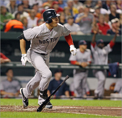 5. Jacoby Ellsbury's power surge will prove no fluke. Remember when the optimistic projection regarding Ellsbury's power potential elicited the name Johnny Damon? Well, no more. Ellsbury's 32 home runs last season surpassed Damon's career high (24). And rather than fading in '11, Ellsbury was one of few Red Sox who had a fine September, hitting .358 with eight homers in the season's final month. A former weakness, the inside fastball, is now a pitch he pounds. Anything less than 25 homers this season would be a disappointment, and he won't disappoint.