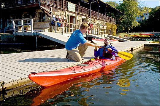 Charles River Kayak