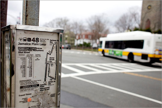 Bus lines eliminated: Route 451, Beverly to Salem Depot Route 355, Woburn to Boston Route 436, Lynn to Danvers Route 710, North Medford to Wellington Station