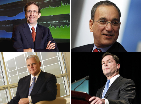 Just how much do the highest paid chief executives earn each year in financial compensation? Take a look at some of the notable compensations for the largest companies in Massachusetts as released to the Securities and Exchange Commission for 2011. All executive compensations have not been released for 2011, so this is not a definitive list nor a list of all the top compensation packages.