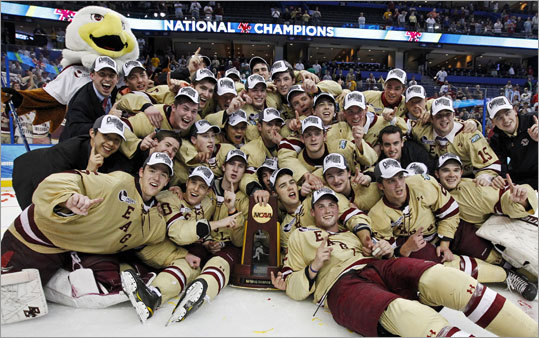 Boston College won its third national title in the last five seasons.