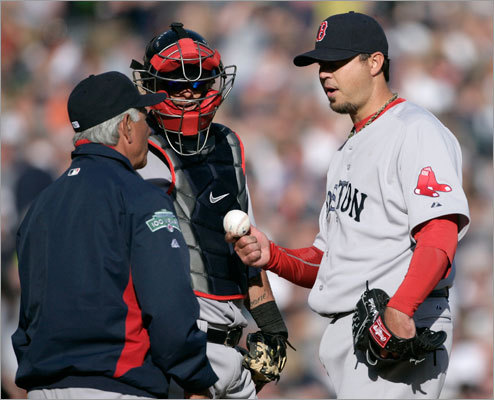 The Red Sox failed to recover from an Opening Day loss to the Tigers, instead putting up an even worse performance Saturday afternoon in Detroit. Josh Beckett (right) gave up five home runs, in no way quieting the doubts he started after a terrible September in 2011. Box score: Tigers 10, Red Sox 0