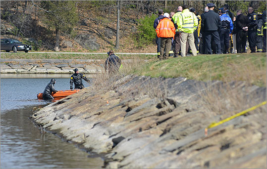 The Boston Fire Department and State Police retrieved a body from the Chestnut Hill Reservoir that is believed to be that of missing Boston College student Franco Garcia . The body was spotted in the reservoir by a passerby around 8 a.m. Tuesday, said State Police spokesman David Procopio. State Police spent a week in late February searching the reservoir for Boston College student Garcia, who disappeared Feb. 22 after spending the night with friends at a Cleveland Circle bar.
