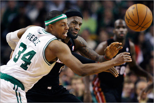 3. Paul Pierce is a machine Please stop underrating Paul Pierce. Please, please, please. As Pierce passes more all-time greats in scoring he's bound to receive more accolades, but the Celtics captain is an under appreciated superstar, even in his own city. Kevin Garnett, Rajon Rondo, and even Avery Bradley have gotten a ton of credit for Boston's recent surge, but the Celtics go nowhere without Pierce. If Pierce has luck creating his own shot and continues his playoff-level defense, the Celtics will be in good shape.