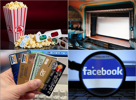 The average movie ticket price in 2011 rose to $7.93 from $7.89 the year before, according to the National Association of Theatre Owners. But in many parts of the country, ticket prices can hover above $10. And you'll pay several dollars more for a 3-D movie. Add a bag of buttered popcorn and a soda, and one person can spend over $20. A family could spend $80 or more -- enough to buy a Blu-Ray player. But if there's a film you don't want to miss at the theater, here are some ways to cut costs.