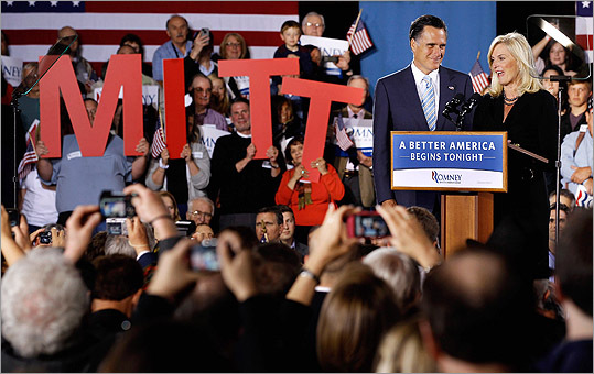 Mitt Romney swept the five GOP primaries on April 24 in Connecticut, Delaware, New York, Pennsylvania, and Rhode Island . He now has 844 of the needed 1,144 delegates to win the nomination before August's Republican convention in Tampa Bay. Voters will head to the polls in Indiana, North Carolina, and West Virginia on May 8.