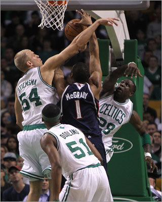 3. Team defense Celtics fans know that Boston's chances this postseason hinge on the team's defense. The Celtics ranked third in the league in opponent points per game (89.6), but fans might be surprised to learn that the Hawks finished fifth (93.2 points) in that category. Outside of Johnson and Josh Smith, the Hawks don't scare you with talent down the rest of the roster. But they've taken a page from the Celtics' book, and the could easily win the series by putting the clamps on.