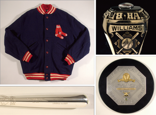 Several items from the playing days and personal life of arguably baseball's greatest hitter will be up for auction Saturday at Fenway Park. But Ted Williams memorabilia items don't come cheap; some, like his 1949 American League Most Valuable Player plaque, are estimated to be worth more than $100,000. The free public preview started Wednesday and will conclude Friday at 3 p.m. Live bidding starts Saturday at 10 a.m. at Fenway Park in the State Street Pavilion. There are three ways to bid: in person at the auction, via phone at 610-524-0822 and online at www.huntauctions.com. Here's a look at some of the items for sale.