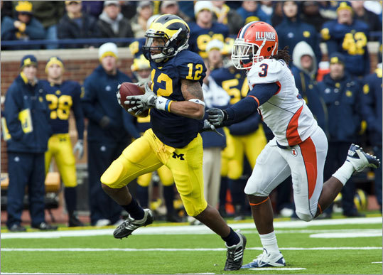 Tavon Wilson Position: Safety School: Illinois Drafted: Round 2, 48th overall pick Writes Greg Bedard: This one was a big shocker, even among the NFL scouting community. Bill Belichick obviously had his reasons for drafting him, so here's a few comments from NFL scouts when asked 'who is Tavon Wilson?': 'Good question. Big surprise. Tweener type. Has been a cornerback and a safety so there's some position flexibility. Little rich for me (that high in the draft).' 'Our guys didn't have him graded high. They must have seen something specific they liked.'