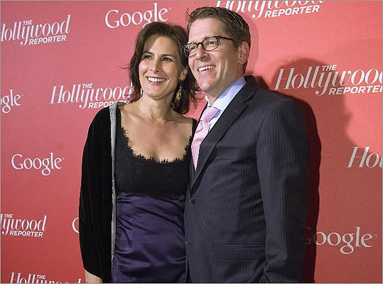 Claire Shipman of ABC News and her husband, White House Press Secretary Jay Carney.