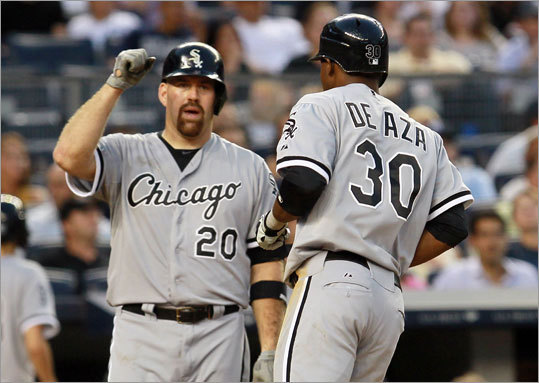 ... And the bottom five Kevin Youkilis They're not booing One more time for all the old times? Why not: 'Yoooooooouuuuuuuuuuuuuuukkkkk!' Youkilis, as a popular as he was sweaty -- that would be 'very' -- was dealt to the White Sox June 24 for OF/INF Brent Lillibridge and dulled pitching prospect Zach Stewart. It was the right thing to do -- power-hitting rookie Will Middlebrooks needed to play, the evidence was mounting that injuries had robbed Youkilis of bat speed and mobility, and he wasn't exactly a loyal viewer of 'The Bobby Valentine Show.'' But it was a heck of a run.