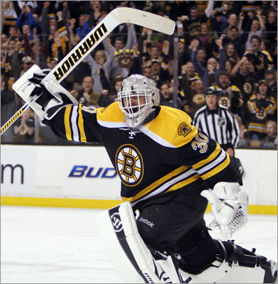 Tim Thomas Position/status: Goalie, signed through 2012-13 season 2011-12 stats: 2.36 goals-against average, .920 save percentage in 59 games Dupont's call: Likely returns as No. 1 starter or in split-time role with Tuukka Rask. A much-talked about option is to trade the 38-year-old veteran to get some value for him and make Rask the starter. But Thomas is a bargain for 2012-13 with a $3 million salary cap hit, and the return might not be as high as some may think.