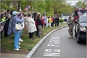 Hingham welcomes corporal home