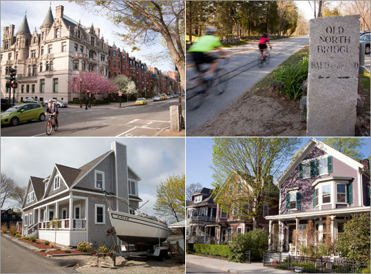 In April we surveyed members of the Massachusetts Association of Realtors and other real estate agents. We asked them to identify the top streets in Greater Boston based on a number of criteria, such as curb appeal and proximity to amenities (from parks and playgrounds to schools and restaurants). The results are found in our Top Spots to Live 2012. By Elizabeth Gehrman, Globe Correspondent