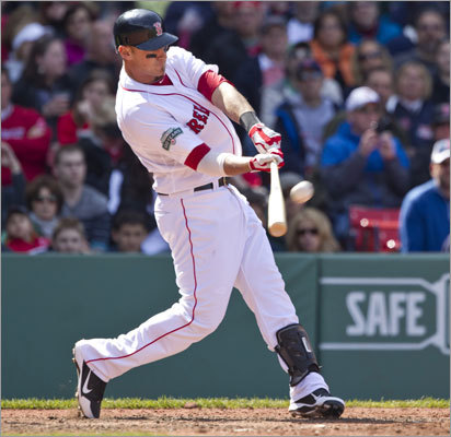 Will Middlebrooks clubbed his first major-league home run in the finale of the Red Sox' series vs. the Orioles. Middlebrooks hit a grand slam in the fifth inning off Tommy Hunter to tie the score at 5-5.