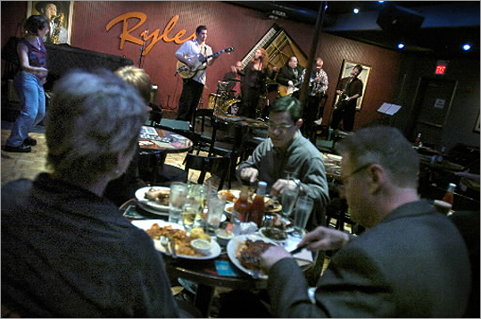 Jazz Jazz was a big feature of Inman Square for a time. Before 1369 Coffeehouse was the 1369 Jazz Club. Today, Ryles is one of a few places still in Inman Square that features regular jazz performances.