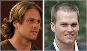 Brady's ever-changing hair